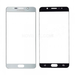 Front Screen Glass for Galaxy Note 5 N920(Ori Quality) - Silver Titan