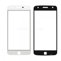 Front Glass For Moto Z/Moto Z Droid-White