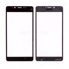 For Nokia Lumia 950 Front Glass- Black