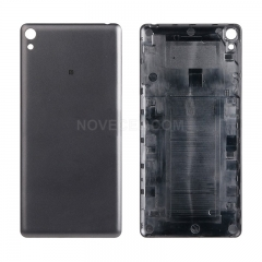 OEM Battery Housing Door Back Cover for Sony Xperia E5 - Black