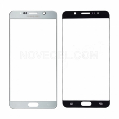 A+ Front Screen Glass for Galaxy Note 5 N920-High Quality/Silver Titan