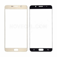 A+ Front Screen Glass for Galaxy Note 5 N920-High Quality/Gold Platinum