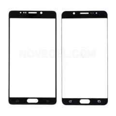 A+ Front Screen Glass for Galaxy Note 5 N920-High Quality/Black Sapphire