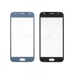 A+ For Galaxy J3 Pro Front outer Screen Glass Lens - High Quality(Blue)