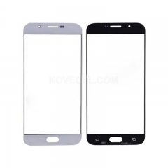 A+ Front Outer Glass For Galaxy A8 (2016)-High Quality/White