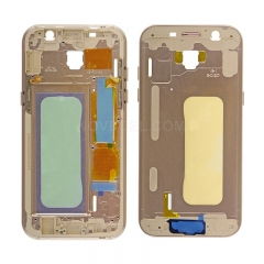 For Samsung Galaxy A5 (2017) / A520 frame-gold