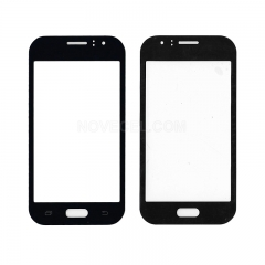 A+Front Glass Lens for Galaxy J1 Ace SM-J110 -High Quality/ Black