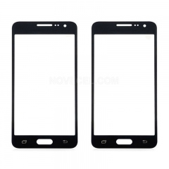 A+Screen Outer Glass for Galaxy A7-High Quality/Black