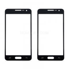 Screen Outer Glass for Galaxy A7 Generic-Black