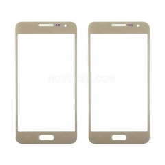 Screen Outer Glass for Galaxy A7  Generic-Gold