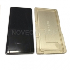 For Note 8 Alignment mould&Black rubber pad for laminating OCA