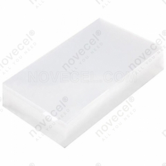 50Pcs OCA Optical Clear Adhesive Sticker for Galaxy A7 SM-A700F LCD Digitizer, Thickness:250μm