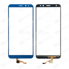 For Huawei Mate 10 Lite Front Glass Lens-Blue