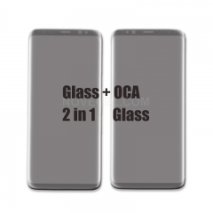 ORI Front Screen Glass + OCA (150um) for Samsung Galaxy Note 9 N960-Black