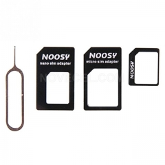 Hot Sale Convert Nano SIM Card to Micro Standard Adapter For For 4/4S5/5S/5C Drop Shipping Factory Price