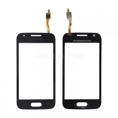 OEM Refurbished Front Touch Glass for Samsung G316 - Black