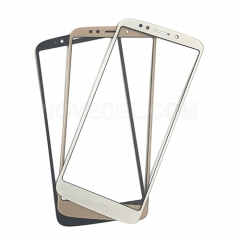 Front Glass for Motorla G6 Play - Gold
