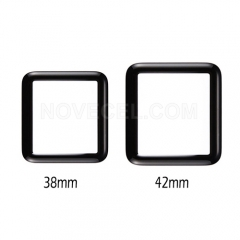 Front Screen Glass Lens for Apple Watch Series 1 38mm - Black