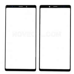 A+ Front Screen Glass Lens for Samsung Galaxy Note 9 N950-High Quality/Black
