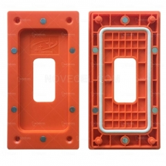 High Precision Frame Mold Pressure Holding Fixture with Magnetics - Orange for X / Xs / XS MAX