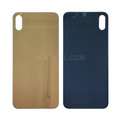 A+ Back Cover Glass For iPhone XS(5.8 inches) - Gold/Big Hole