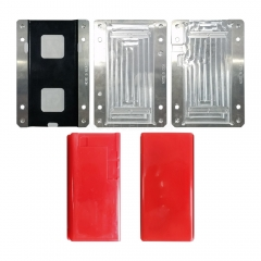 For Note 9 N960 NOVECEL LCD Display Screen Laminating Mould / Mold with Alignment Function (4 Pcs) - Red Pads
