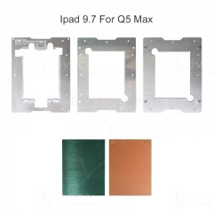 For iPad Pro 9.7  Laminating Mould and alignment mould/Compatible with Q5 Max