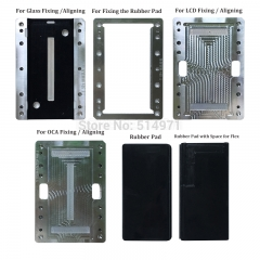 For Samsung S10 S10P S10E S9 S8 + S7edge S6edge S6edge+ Positioning Alignment Laminating molds Compatible for BM Series and Q5 A5 Laminating Machine